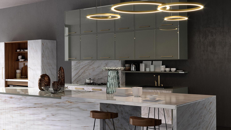Cucina Regent+Nui - Tomassi Galanti, PU